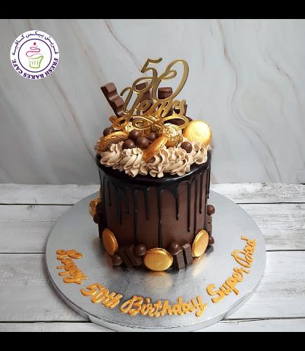 Cake with Macarons 06