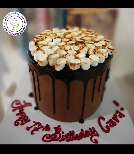 Cake - Dessert - S'Mores Cake