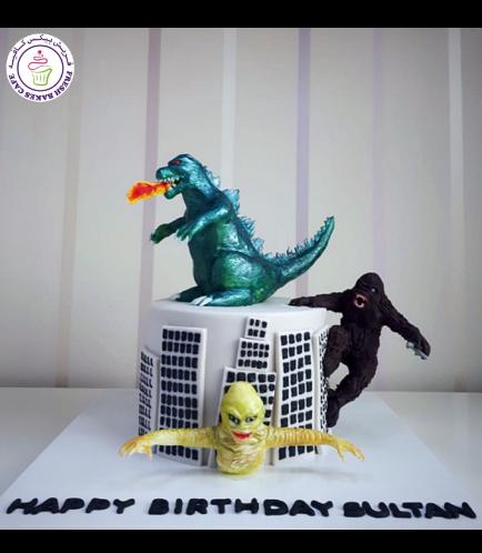 Rampage Themed Cake