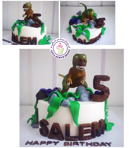 Dinosaur Themed Cake 22