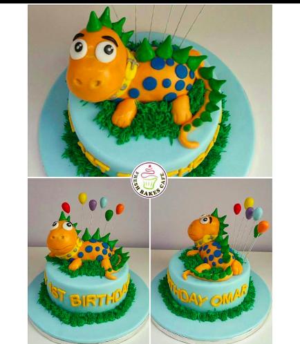 Dragon Themed Cake - 3D Cake Topper