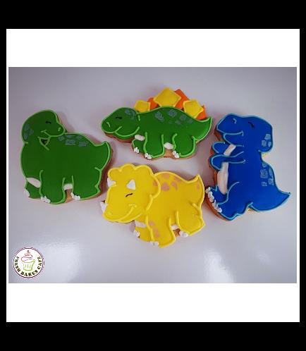 Dinosaur Themed Cookies 01a