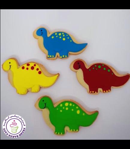 Dinosaur Themed Cookies 11
