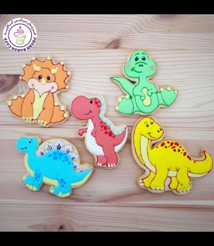 Dinosaur Themed Cookies 12
