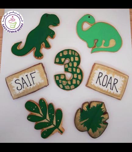 Dinosaur Themed Cookies 13