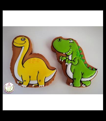 Dinosaur Themed Cookies 02