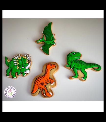 Dinosaur Themed Cookies 03