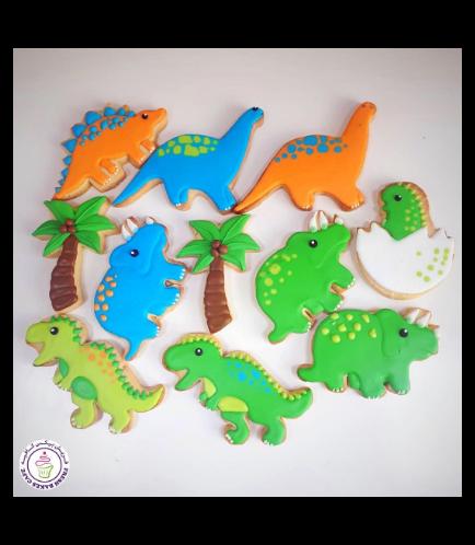 Dinosaur Themed Cookies 05
