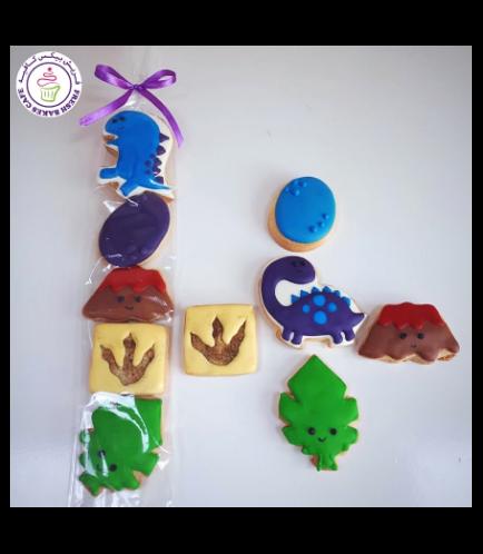 Dinosaur Themed Cookies - Minis