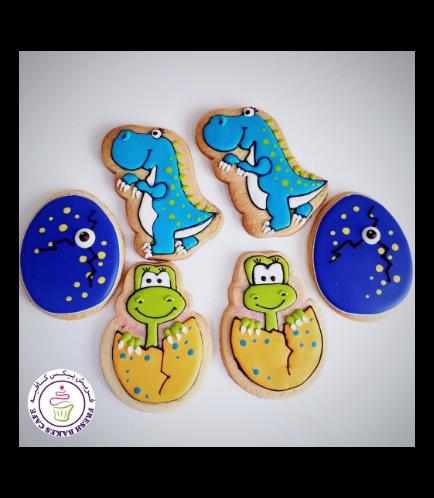 Dinosaur Themed Cookies 07