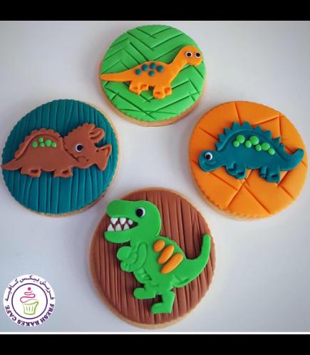 Dinosaur Themed Cookies 08