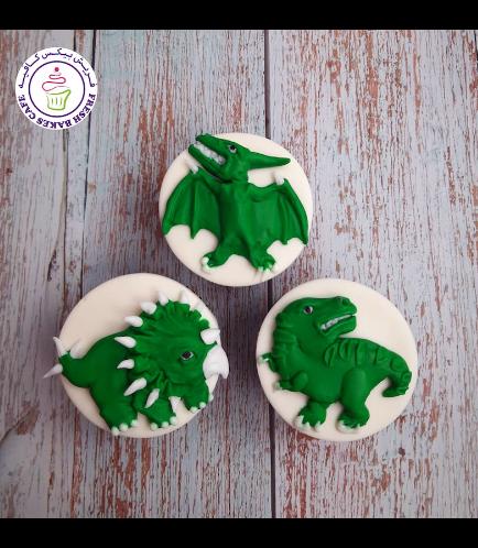 Dinosaur Themed Cupcakes 06