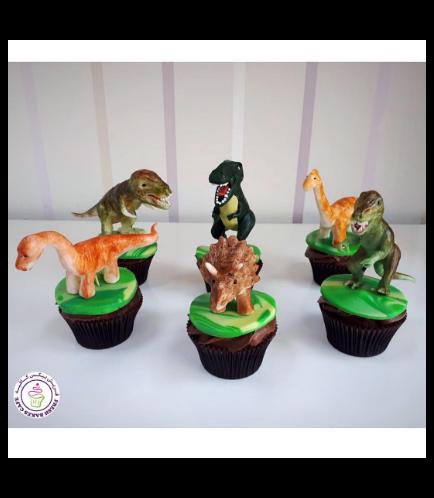 Dinosaur Themed Cupcakes 02