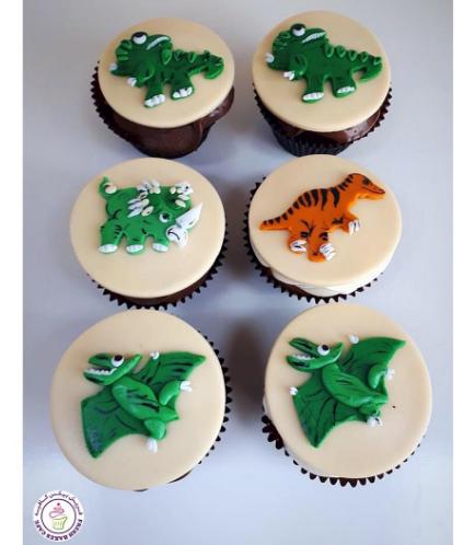 Dinosaur Themed Cupcakes 03