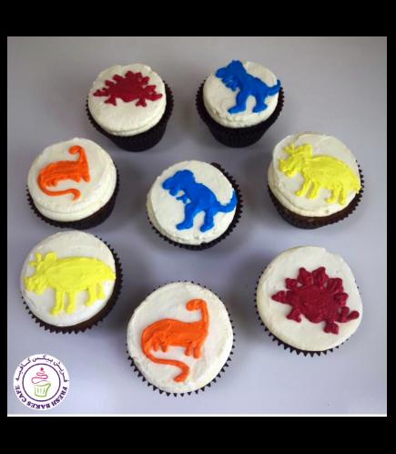 Dinosaur Themed Cupcakes 05