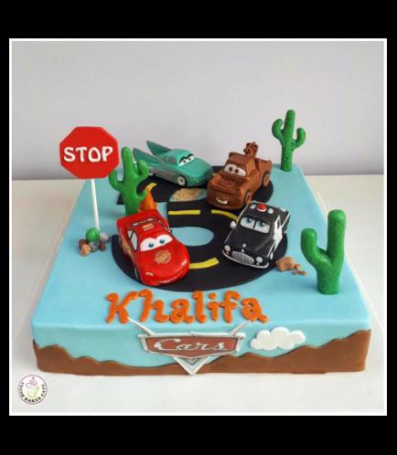 Disney Pixar Cars Themed Cake 02