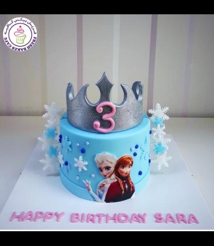Cake - Crown - Silver 02