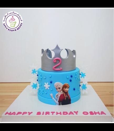 Cake - Crown - Silver 02a