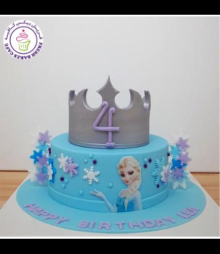 Cake - Crown - Silver 02b