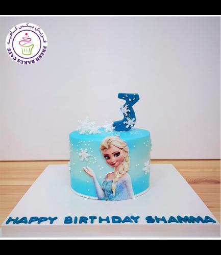 Cake - Picture - 2D Printed Picture - Cream Cake 02