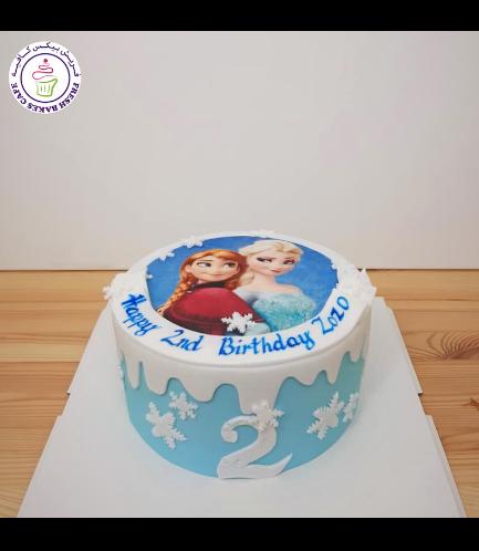 Cake - Picture - Printed Picture - Fondant Cake 06