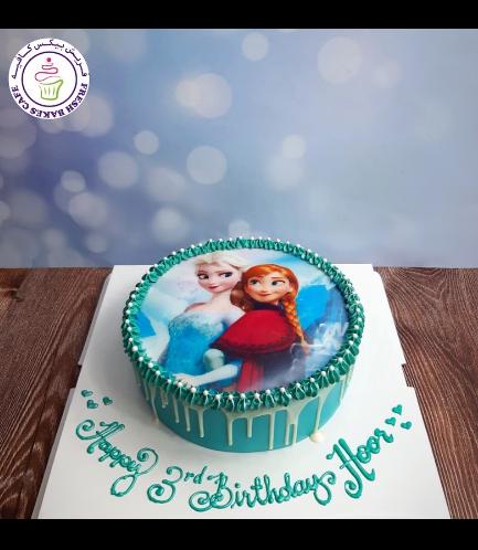 Cake - Picture - Printed Picture - Fondant Cake 07