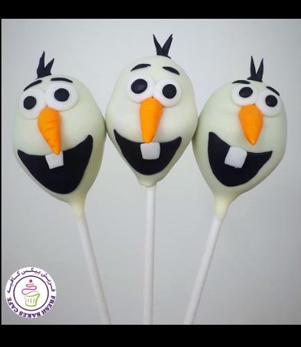 Cake Pops - Olaf