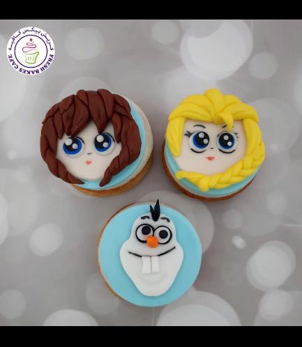 Disney Frozen Themed Donuts