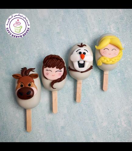 Disney Frozen Themed Popsicakes 02