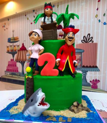 Disney Jake and the NeverLand Pirates Themed Cake 01