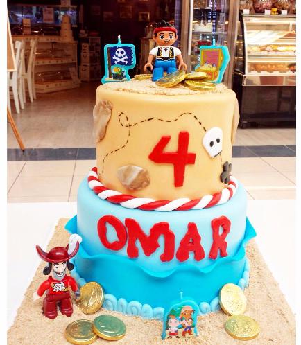 Disney Jake and the NeverLand Pirates Themed Cake 02