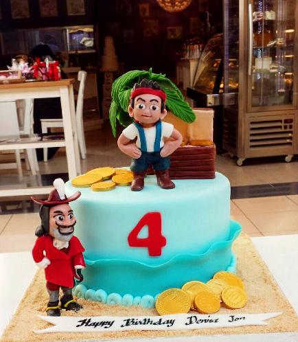Disney Jake and the NeverLand Pirates Themed Cake 03