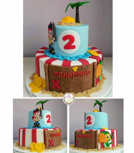 Disney Jake and the NeverLand Pirates Themed Cake 04