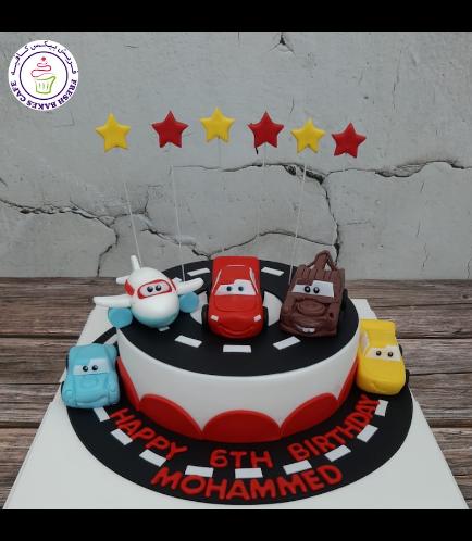 Cake - Disney Pixar Cars - 3D Cake Toppers - Round 01