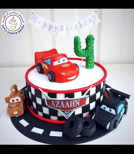 Cake - Disney Pixar Cars - 3D Cake Toppers - Round 02
