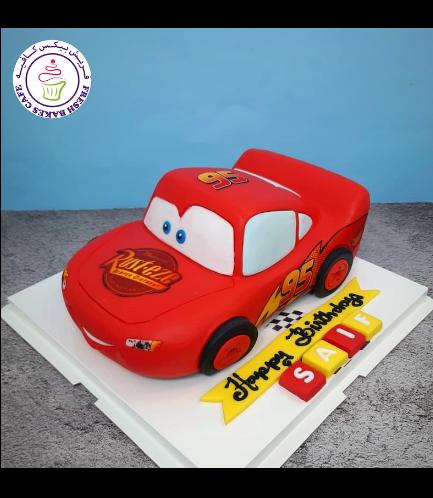 Cake - Lightning McQueen - 3D Cake 03b
