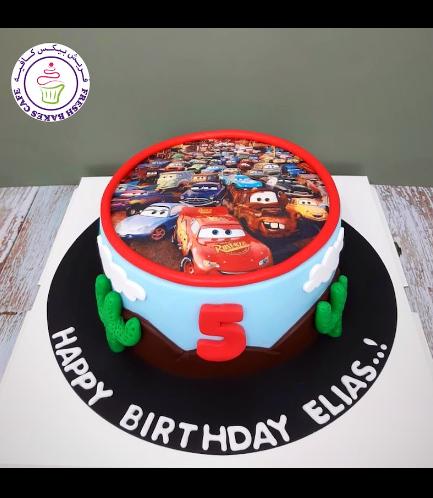 Cake - Disney Pixar Cars - Printed Picture 01a