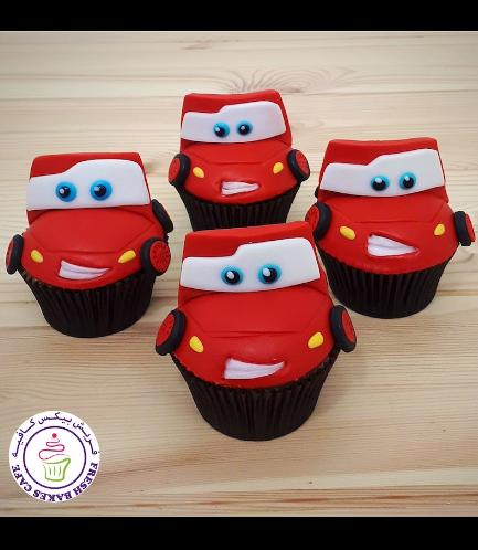 Cupcakes - Lightning McQueen