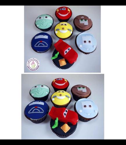 Disney Pixar Cars Themed Cupcakes 02