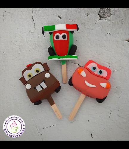 Disney Pixar Cars Themed Popsicakes
