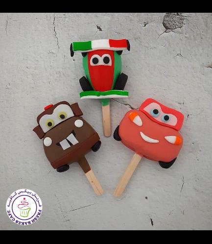 Popsicakes - Disney Pixar Cars
