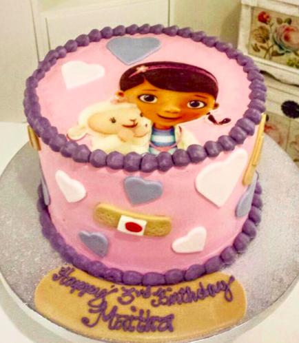 Doc McStuffins Themed Cake 02