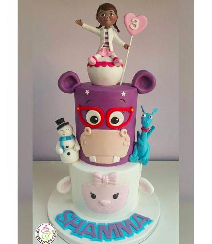 Doc McStuffins Themed Cake 04