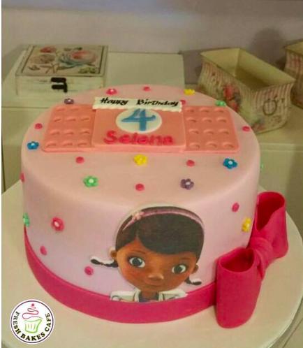 Doc McStuffins Themed Cake 03