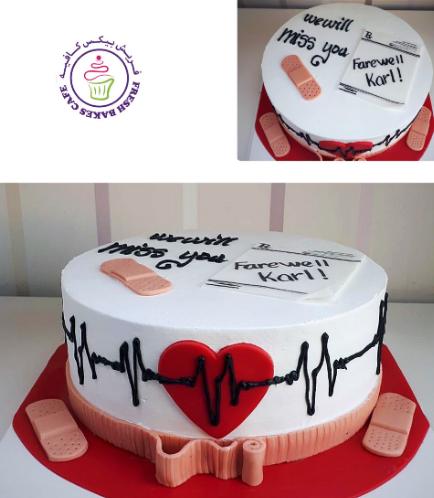 Doctor Themed Cake 05
