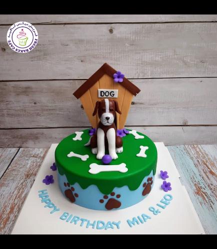Dog Themed Cake - 3D Cake Topper - Beagle 01b