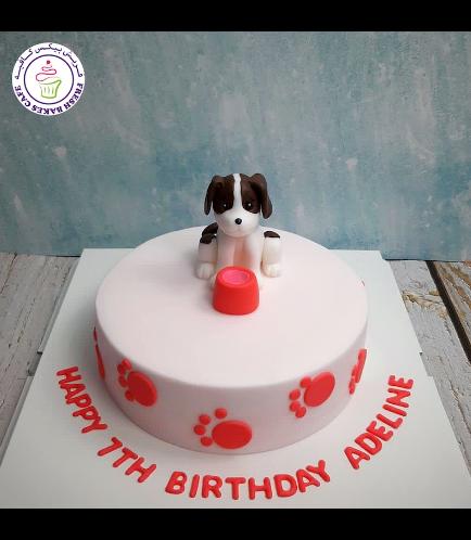 Dog Themed Cake - 3D Cake Topper - Beagle 02