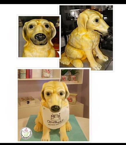 Dog Themed Cake - 3D Cake