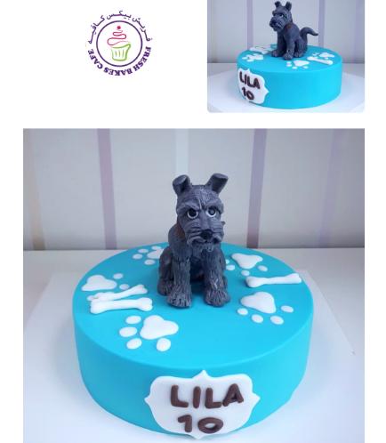 Dog Themed Cake 10