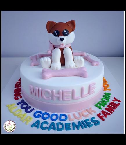 Dog Themed Cake 08